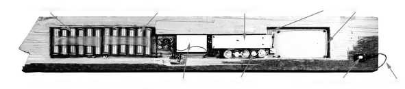 Размещение радиозакладки, закамуфлированной под деревянный брусок1