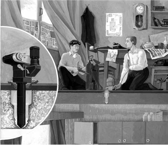 """Изготовление отверстия в потолочном перекрытия для фотоаппарата """"Циния"""""""